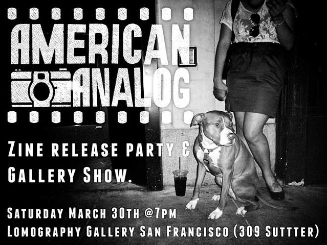 Release party for American Analog