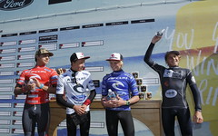 Boys International GromSearch finalists (left to right): Lucas Silveria (4th), Jacob Willcox (3rd), Jackson Baker (2nd) and winner Leonardo Fioravanti.