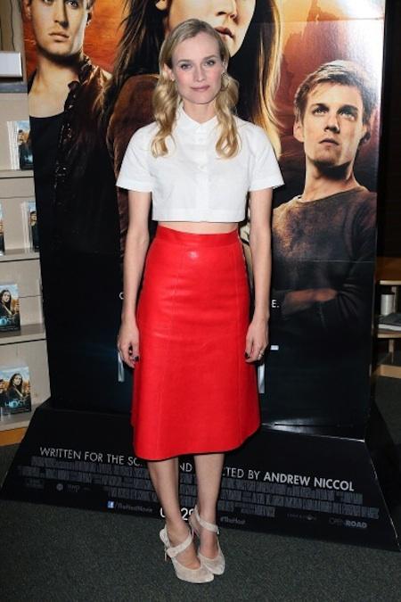 best dressed march-Diane Kruger