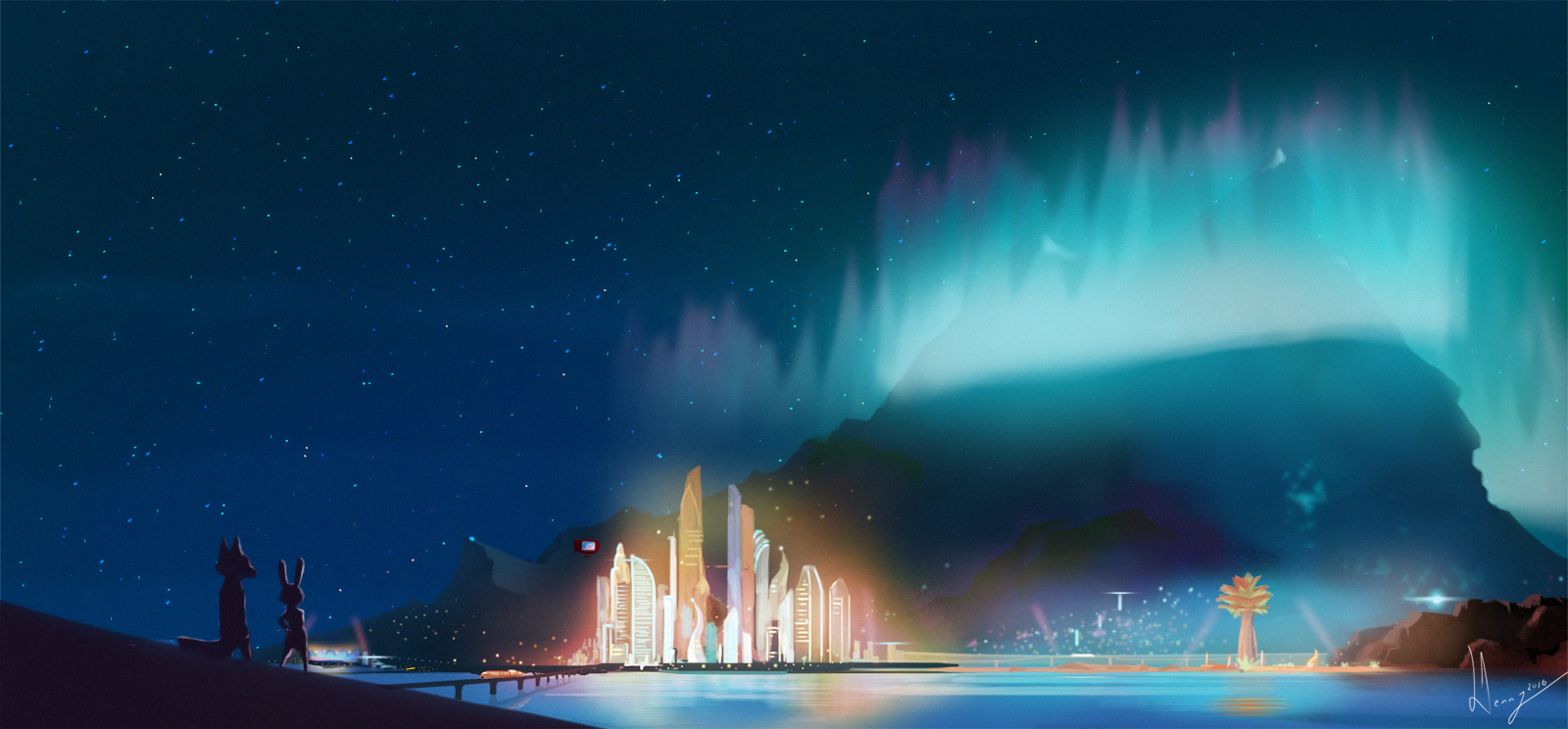 Art of the Day #50!! Fifty Fantastic Wallpapers ...