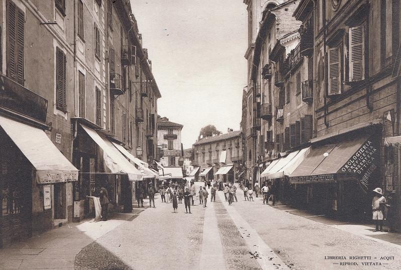 Via Vittorio Emanuele, Acqui Terme, Italy