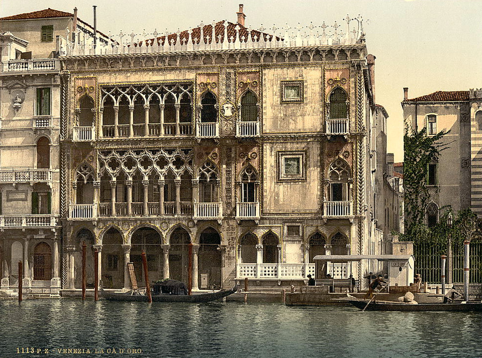 The Golden House, Venice, Italy