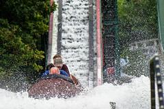Water rollercoaster ride at Bakken, Denmark