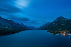 Upper Waterton Lake, Alberta Canada