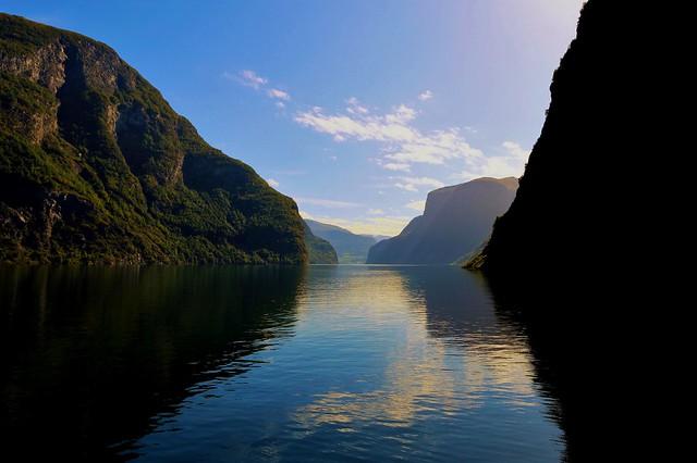 Aurlandfjord. Norway