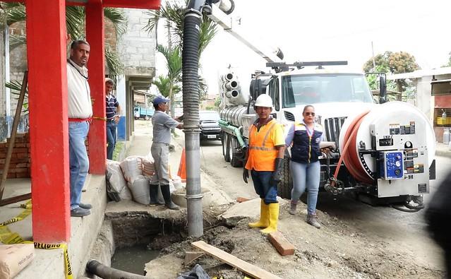 Aguas del Chuno realiza varias reparaciones