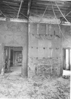 East Wall of the State Dining Room of the White House during the Renovation, 03/01/1950