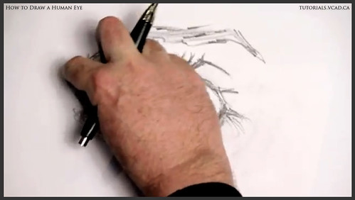 learn how to draw a human eye 011