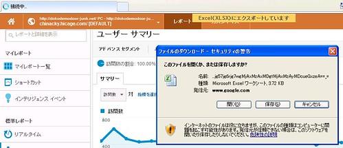Googleアナリティクス IE