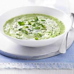 Green Cucumber Mint Gazpacho