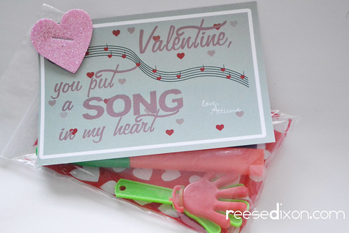 Music Themed Valentines Cards
