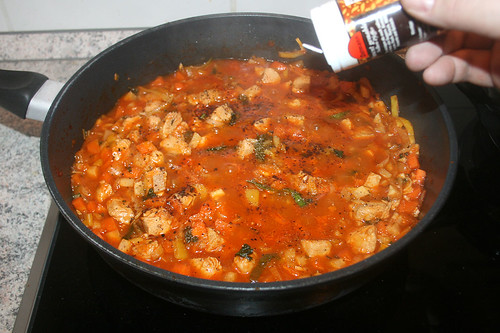 45 - Mit Gewürzen abschmecken / Taste with spices