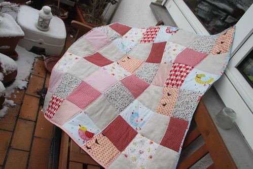 baby quilt.