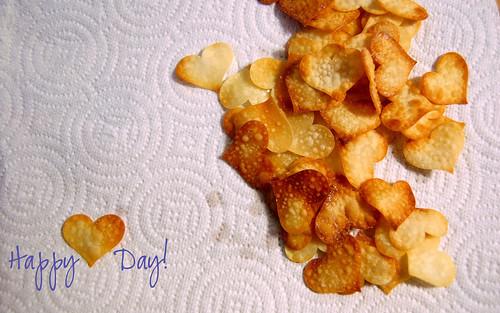 heart crackers