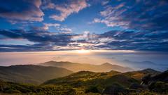 Sunrise at Tai Mo Shan