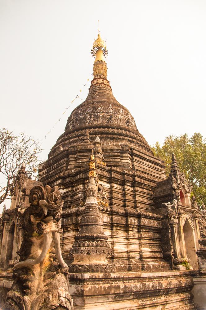 Chedi/Stupa -- Wat Po Pao, Chiang Mai