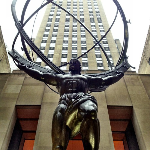 atlas @ rockefeller center