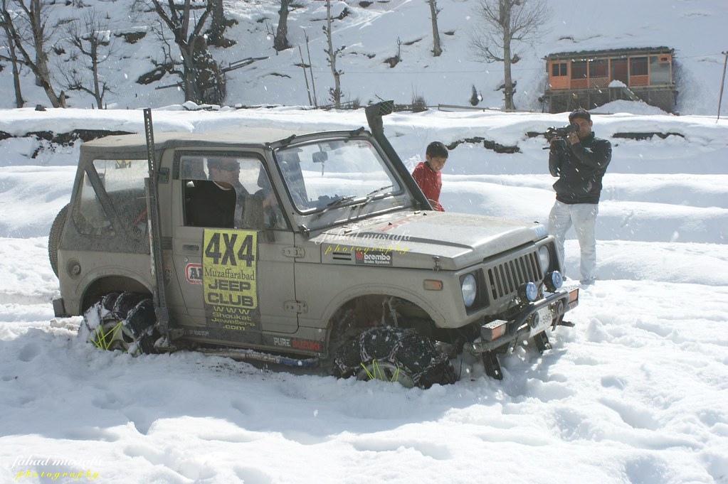 Muzaffarabad Jeep Club Neelum Snow Cross - 8472104538 1c204e4a99 b