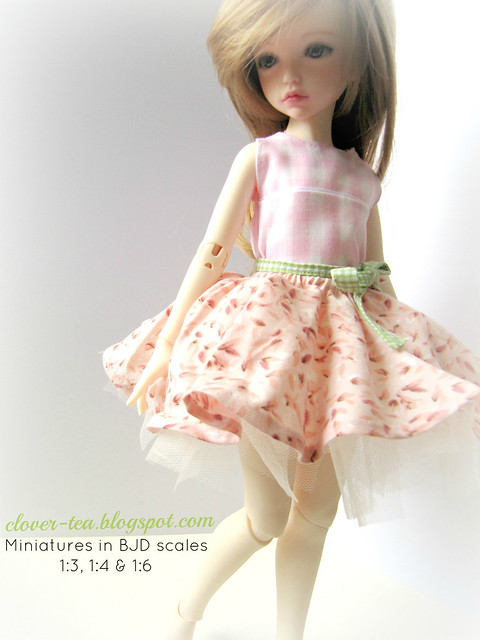 Snowfern Clover, Miniatures in BJD Scales 1:3, 1:4 & 1:6