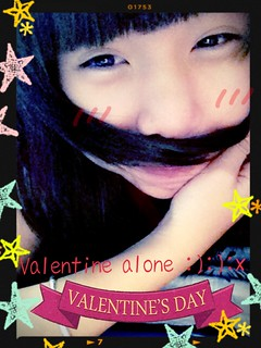 - Ugly :) Happy valentine :x