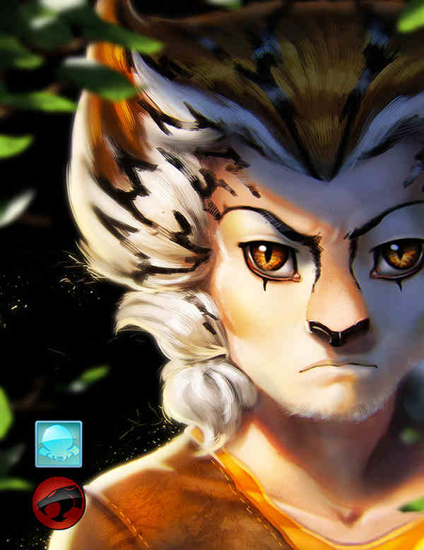 imágenes de los personajes de los Thundercats