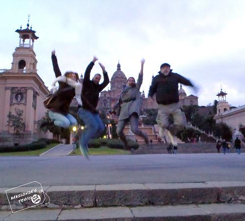 Jumping en Barcelona