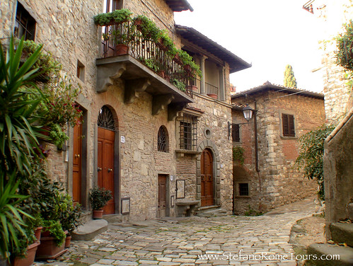 Montefioralle (in Chianti Region of Tuscany)