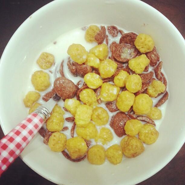 Koko Krunch & Waffle Crisp For Breakfast. Good Morning
