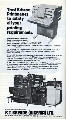 Guide to Lagos 1975 024 RT Briscoe Nigeria Printers