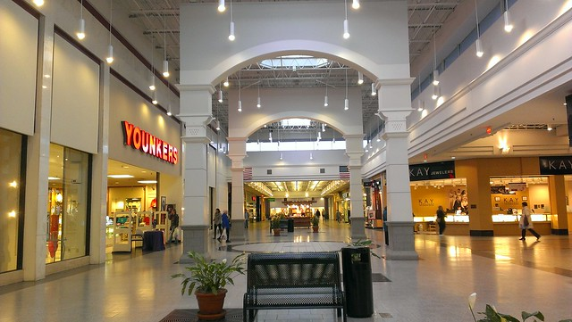 Shopping malls nearby