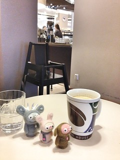soy latte with bobbaloos