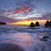 Sunset Rodeo Beach - San Francisco, California by Lightvision [光視覺]