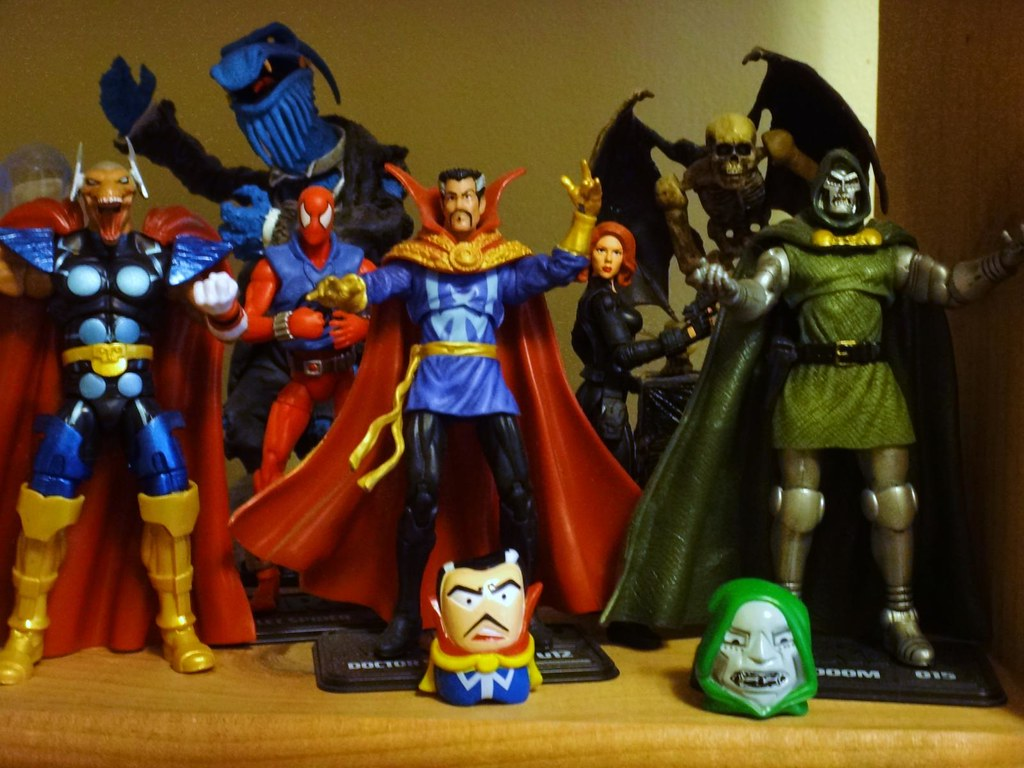 grab zags marvel nog'nz doctor doom doctor strange beta ray bill black widow scarlet spider