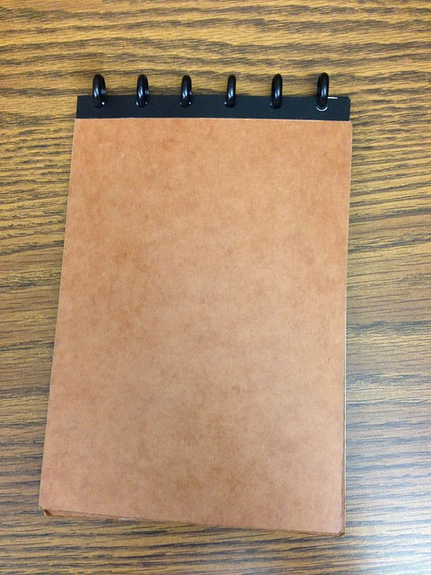 Homemade Circa/Rollabind notebook