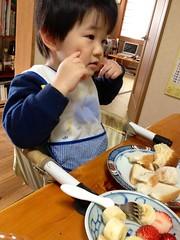 昼御飯 2013/2/23
