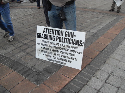 Attention Gun Grabbing Politicians: