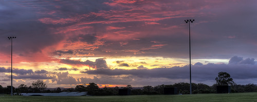 sunset panorama cloud nature brisbane hdr canonef50mmf14usm calamvale