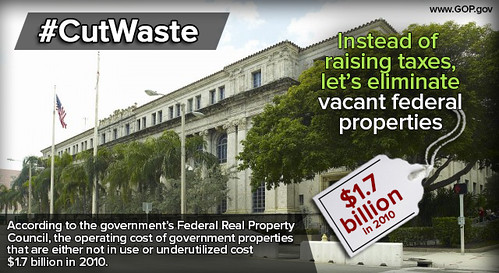 Cut Waste: Vacant Federal Properties
