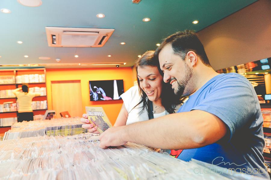 Ana e Fabio E-session na Loja Geek Alameda Santos (6 de 38)