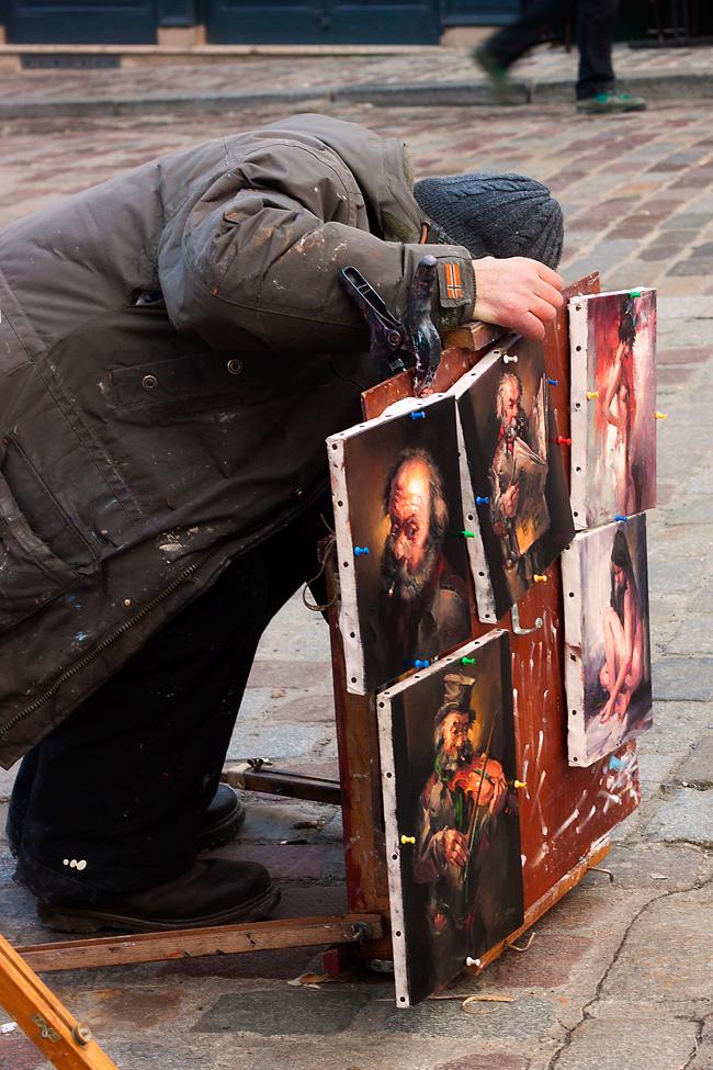 pintor que pintas con amor