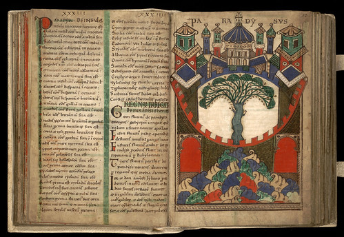 002-Liber floridus – siglo XII-Biblioteca de la Universidad de Gent -Licencia Creative Commons (CC BY-NC-SA 2.0)