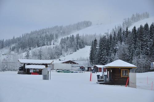 winter snow suomi finland skiing talvi slopes himos