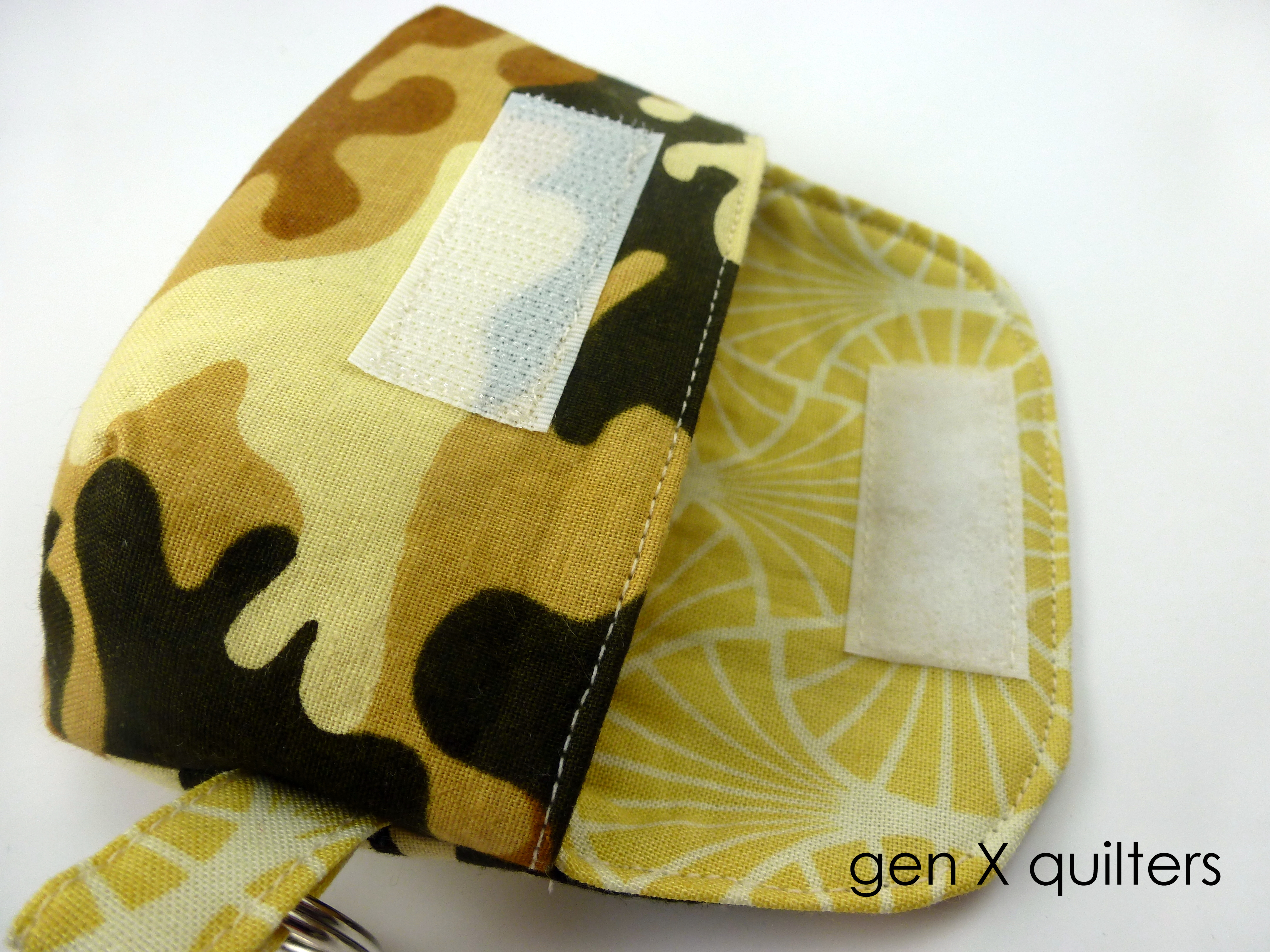 March 2013 camo keychain clutch