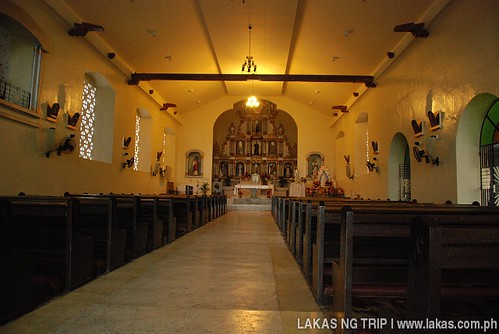 Inside Banton Church in Banton Island, Romblon