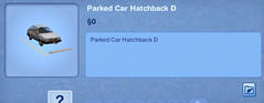 Parked Car Hatchback D