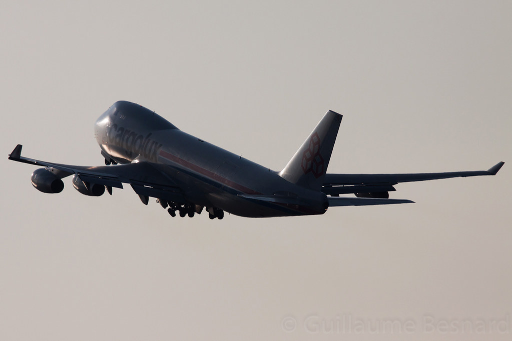 LX-WCV - B744 - Cargolux