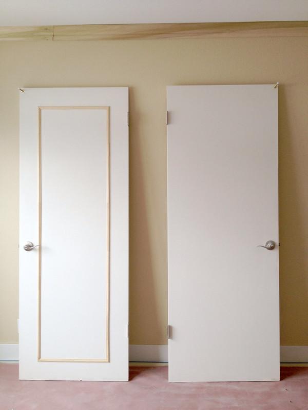 Lindsay Amp Drew Add Trim To A Solid Panel Door
