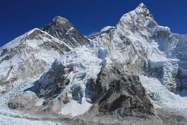 Everest and Nuptse from Kala Pathar