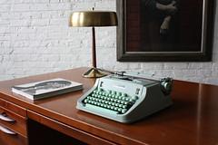 Epic Jens Risom Mid Century Modern Walnut Executive Desk (U.S.A., 1960s)