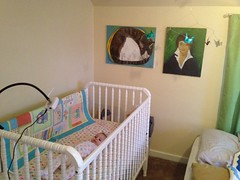 furniture, room, infant bed, property, interior design, nursery,